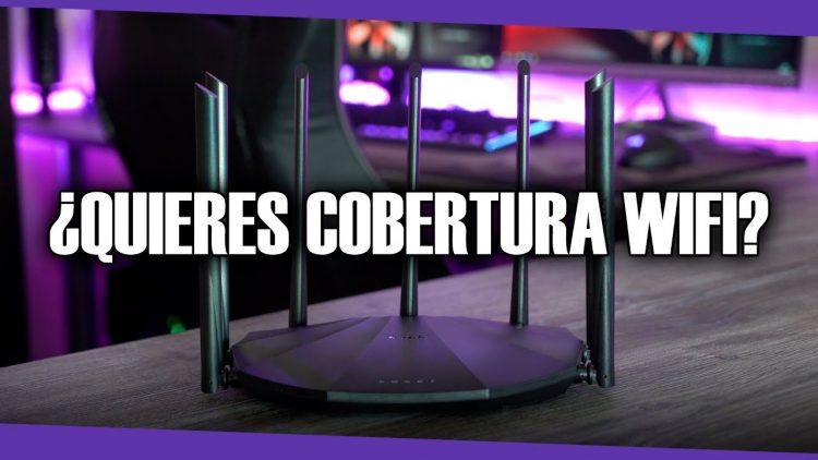 Si quieres gran velocidad y cobertura wifi necesitas este router!!